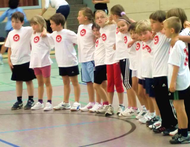 Handball E-Jugend Saison 2011/12