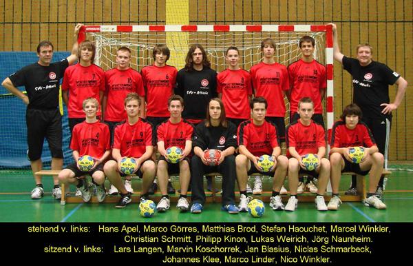 Männliche B-Jugend Sasion 2010/11