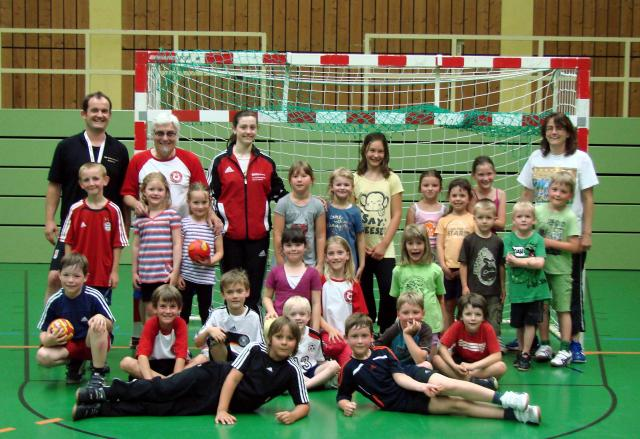Handball Minis Saison 2011/12