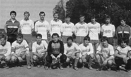 Die erste Mannschaft Saison 1981/82